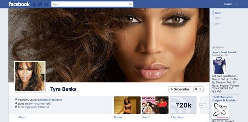 Tyra Cách Tạo Ảnh Cover cho Facebook Timeline