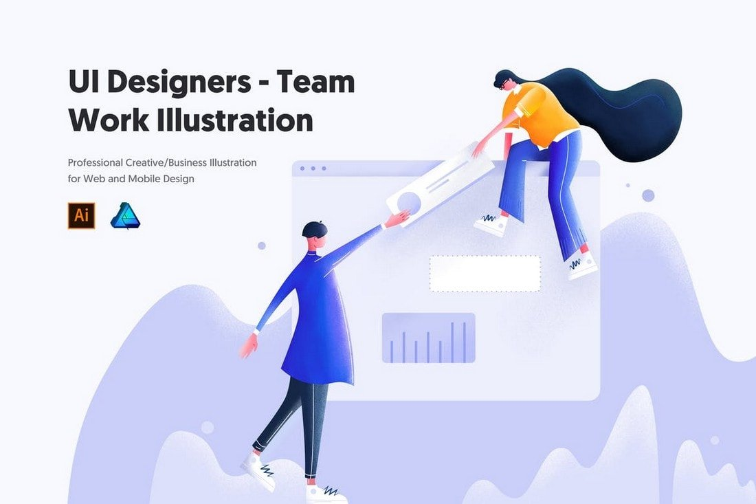 UI-Designers-Team-Work-Illustration 20+ Best Affinity Designer Templates & Assets 2020 design tips  Inspiration