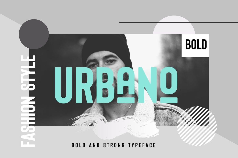 URBANO - Bold Headings Font
