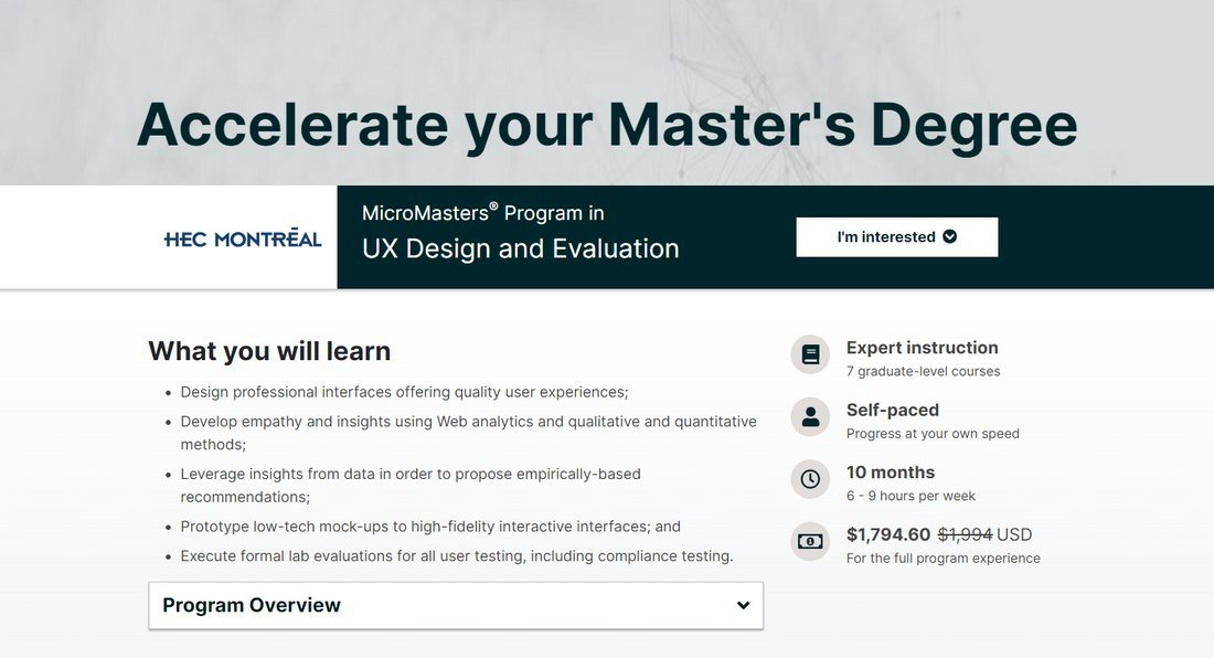 UX Design and Evaluation