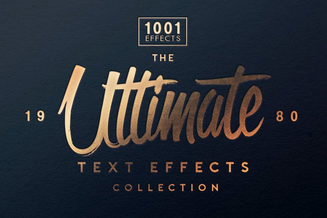 Ultimate-1001-Text-Effects-PSD-Layer-Styles 20+ Best Photoshop Layer Styles in 2021 (Free & Premium) design tips