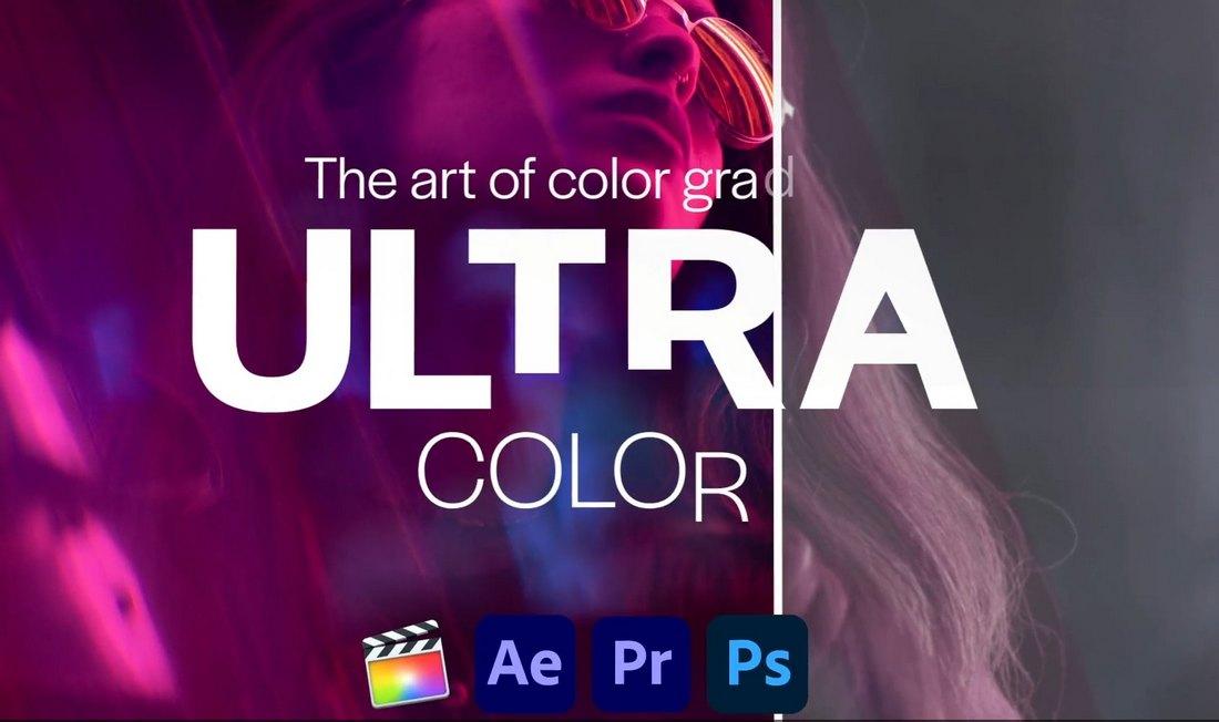 Ultra Color - LUTs for Premiere Pro & FCPX