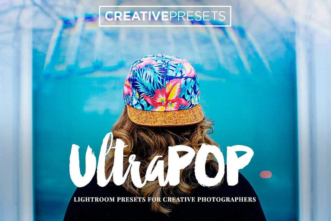 Preajustes creativos UltraPOP Lightroom