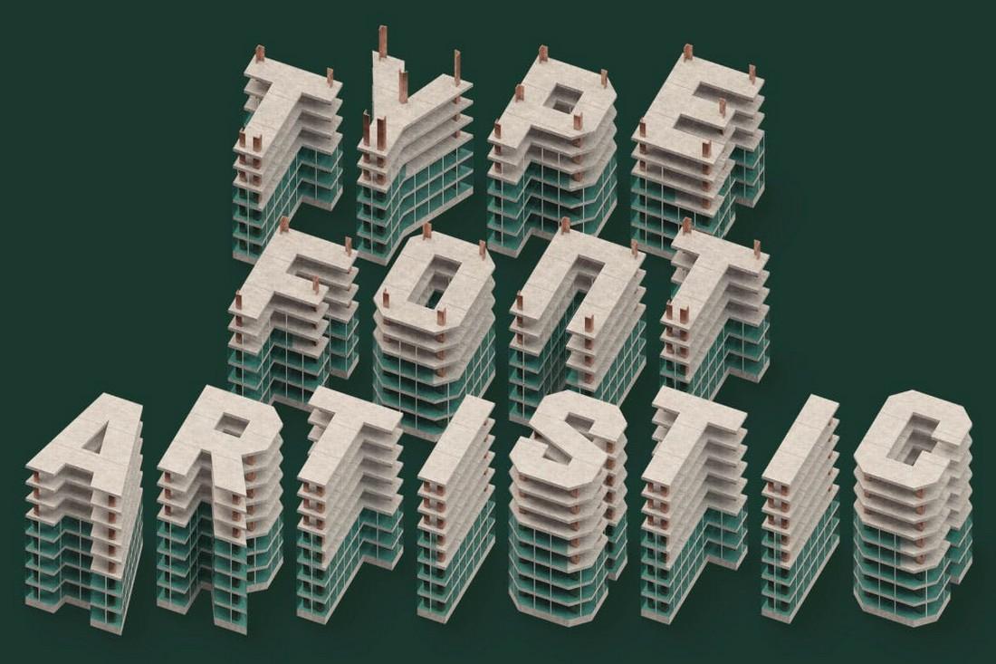 Under Construction - 3D Color SVG Font