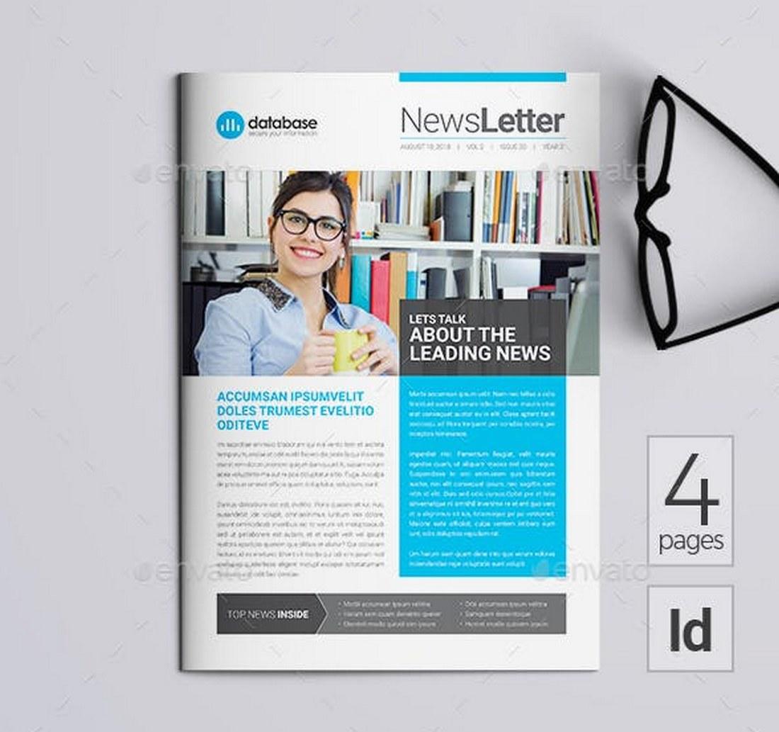 Unique-School-Newsletter-Template 20+ School Newsletter Templates design tips