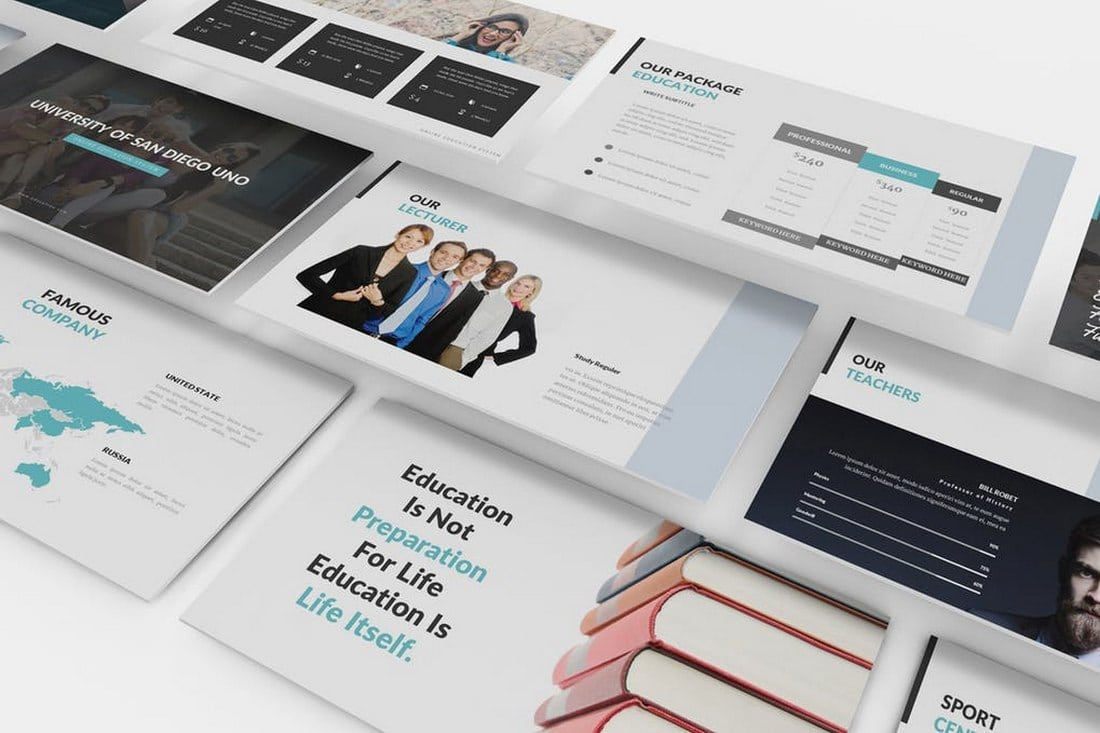 University and Education Powerpoint Template