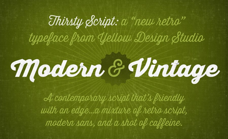 100 Beautiful Script Brush Calligraphy Fonts