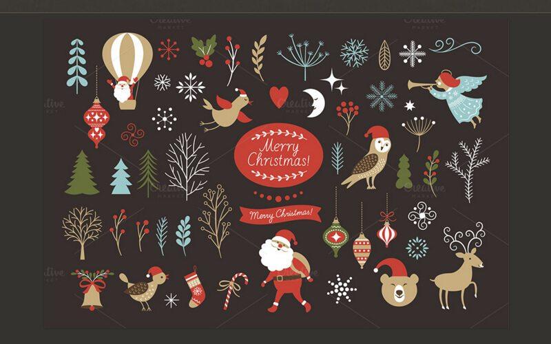 70+ Christmas Mockups, Icons, Graphics & Resources ...