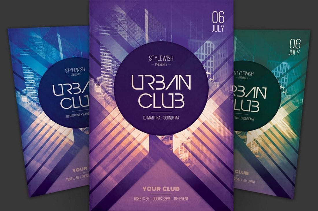 Urban-Club-Flyer-Template-1 20+ Best Club Flyer Templates design tips  Inspiration