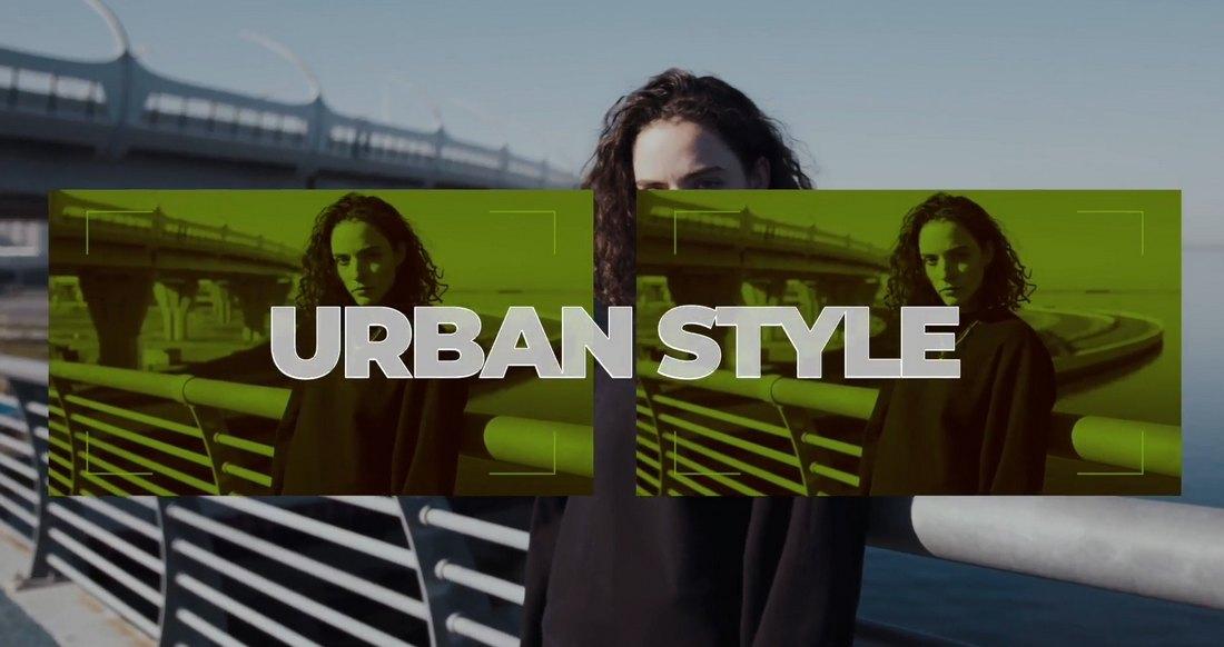 Urban Fashion Promo Final Cut Pro Slideshow Template