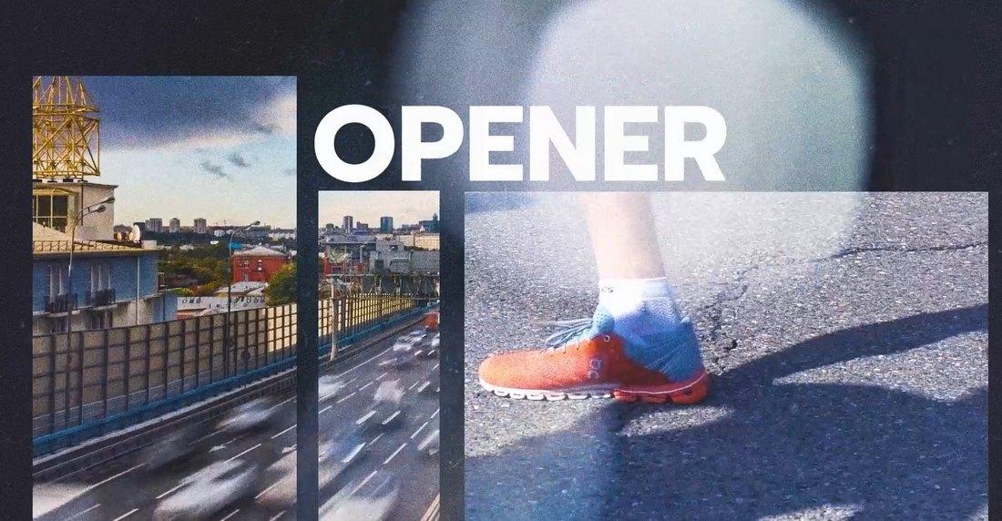 Urban Opener - DaVinci Resolve Intro Template