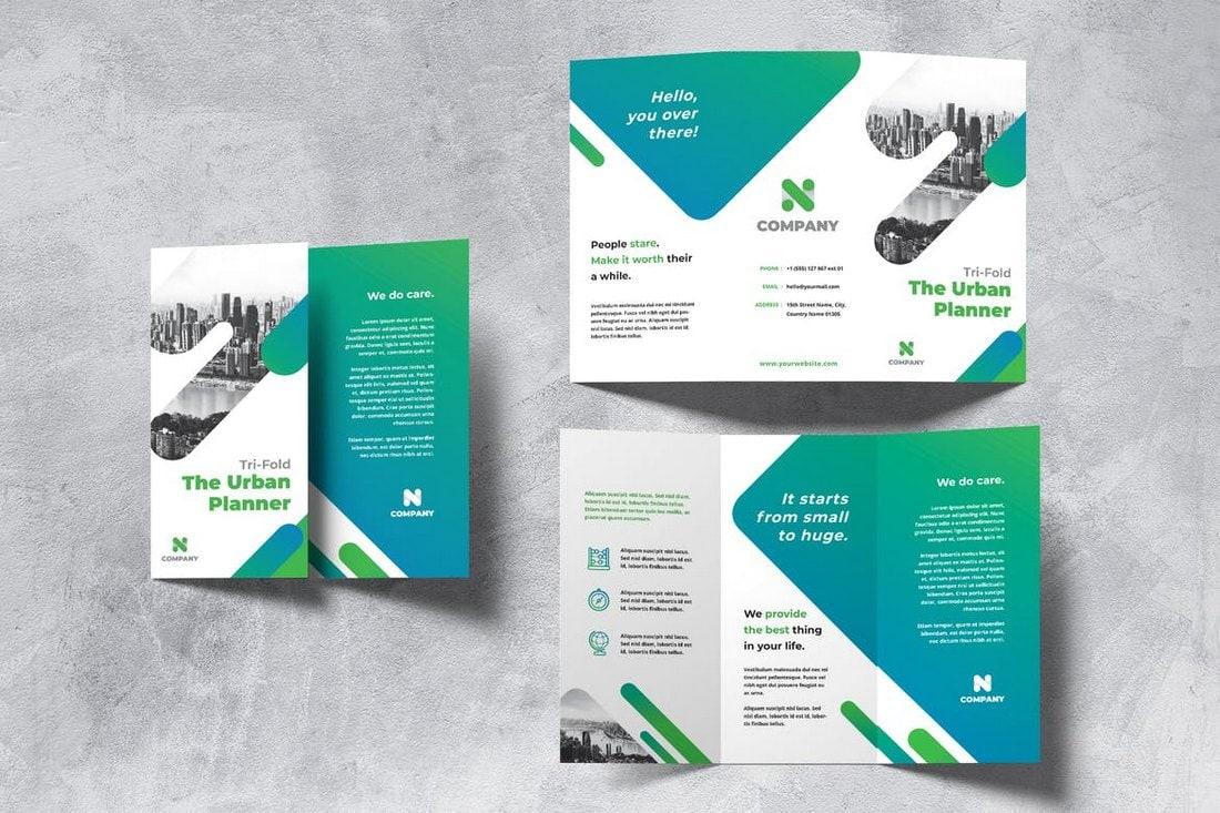 Urban Planner Trifold Brochure