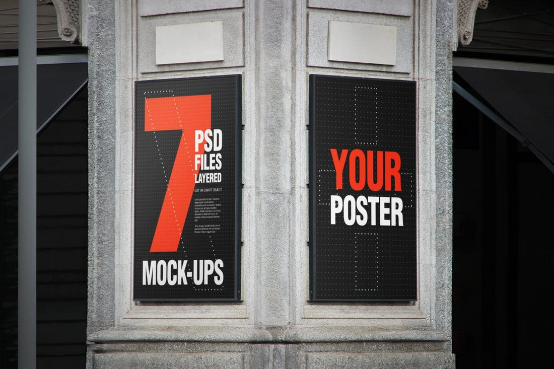 Urban-Poster-Billboard-Mockup 30+ Best Poster Mockup Templates 2021 design tips