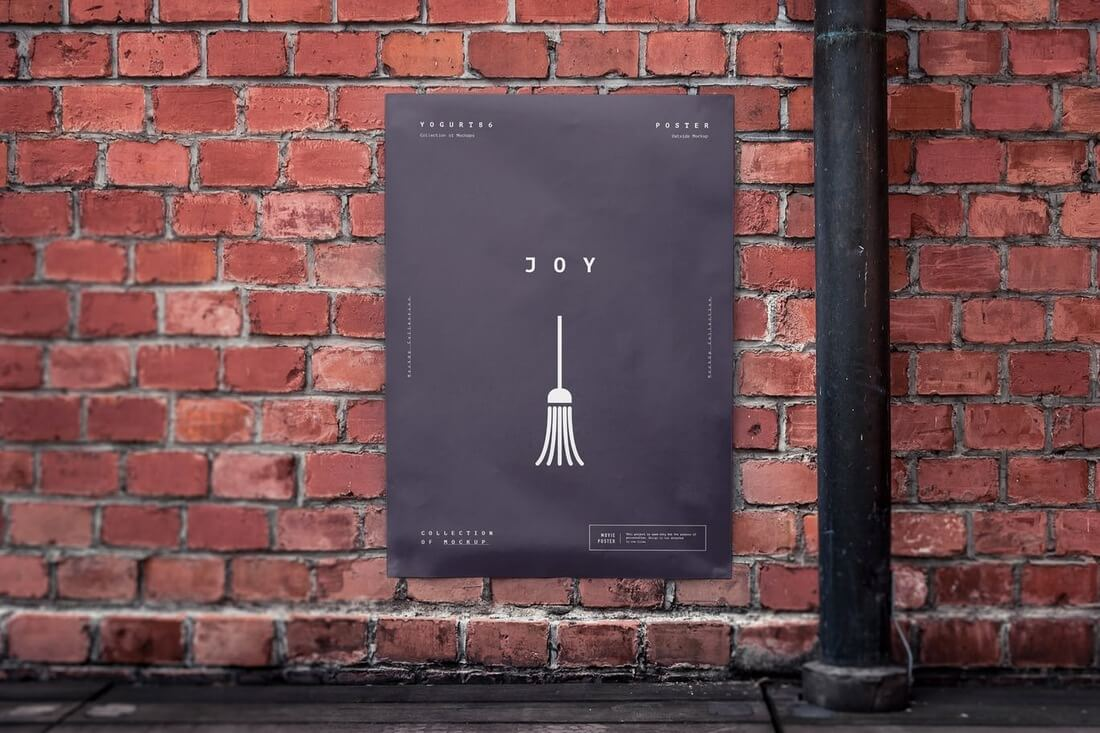 Urban-Poster-Mock-Up-2 30+ Best Poster Mockup Templates 2021 design tips