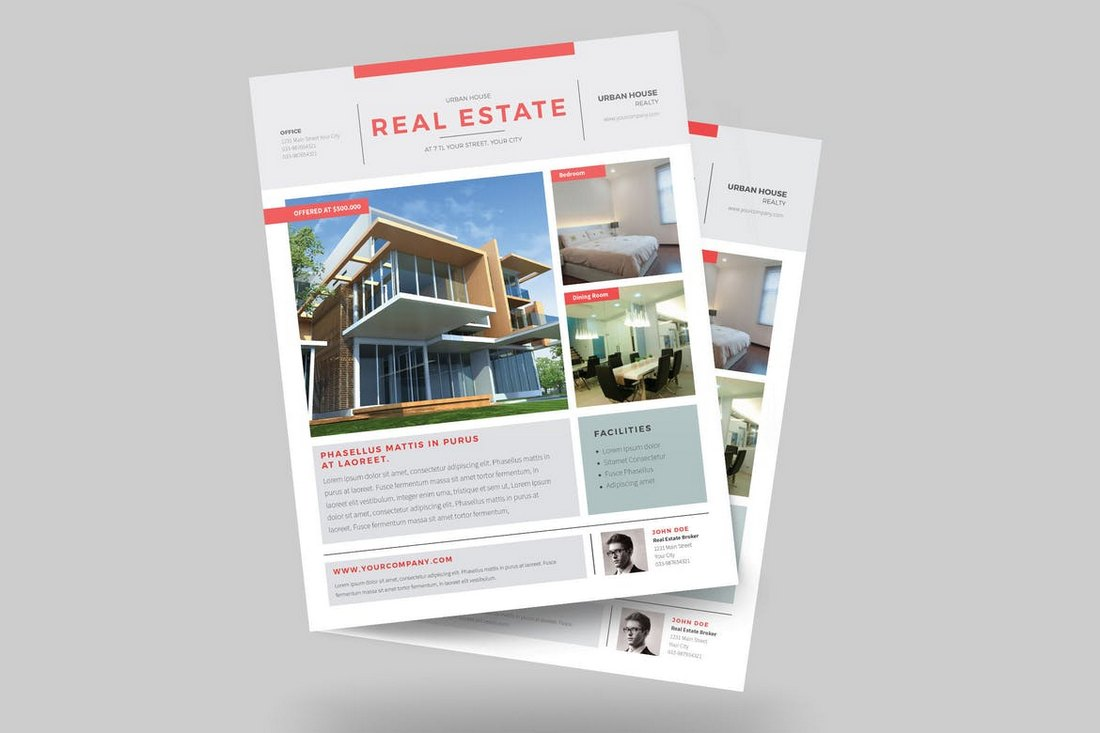 Urban-Real-Estate-Flyer-Template 30+ Best Real Estate Flyer Templates design tips  Inspiration|flyer|property|real estate