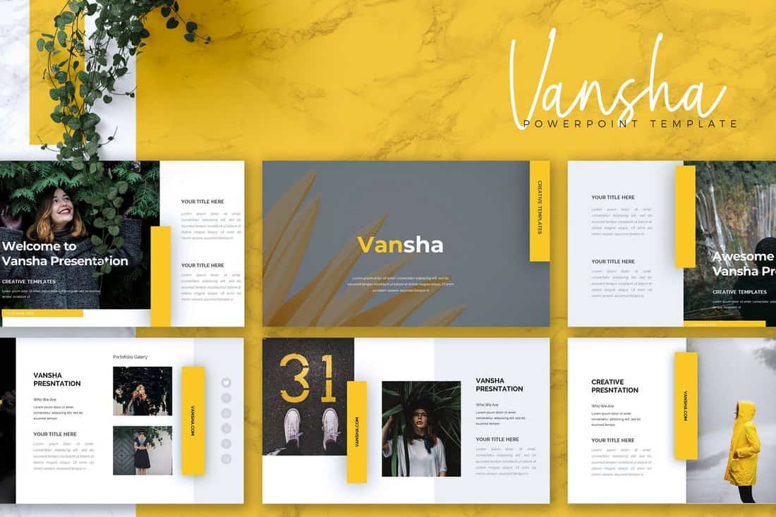 VANSHA - Business Powerpoint Template