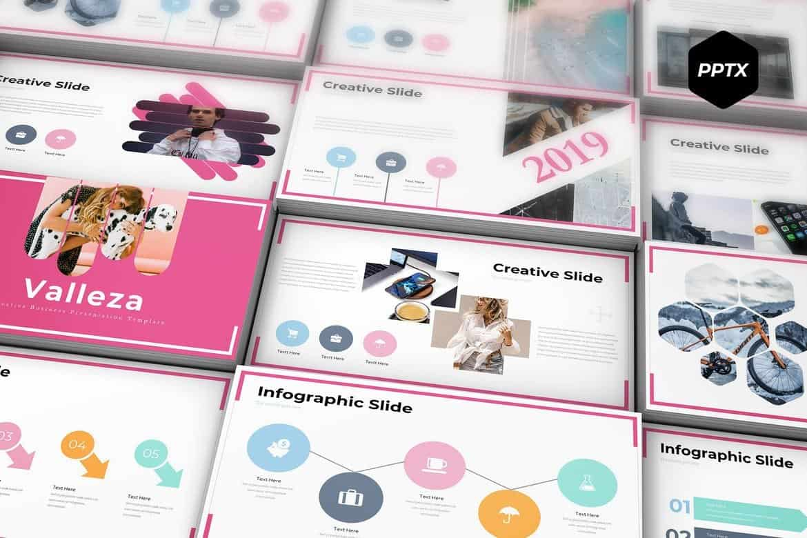 Valleza - Modern Powerpoint Template