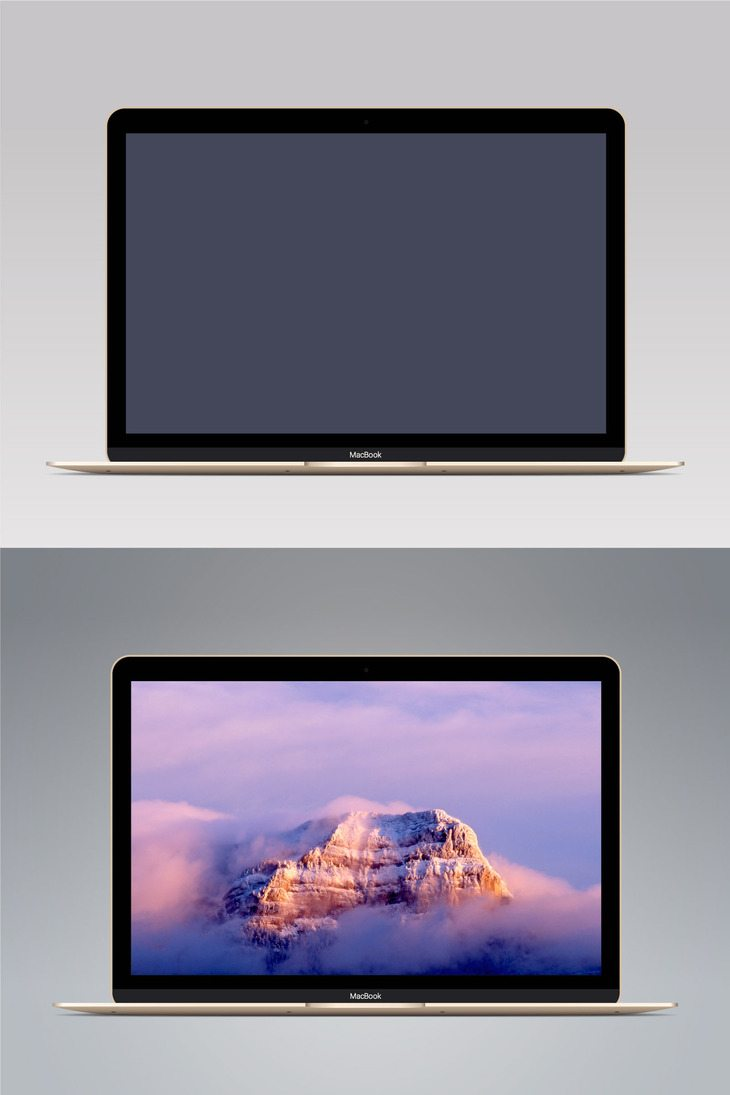 Vector-MacBook-Gold