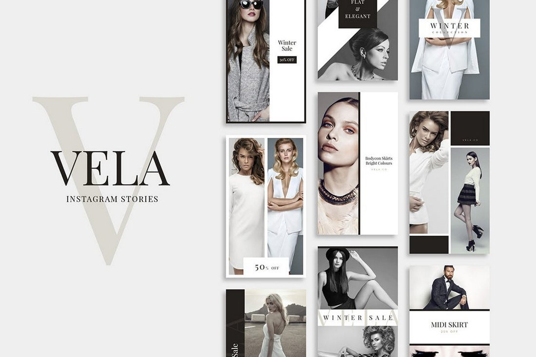 Vela - Instagram Post Templates