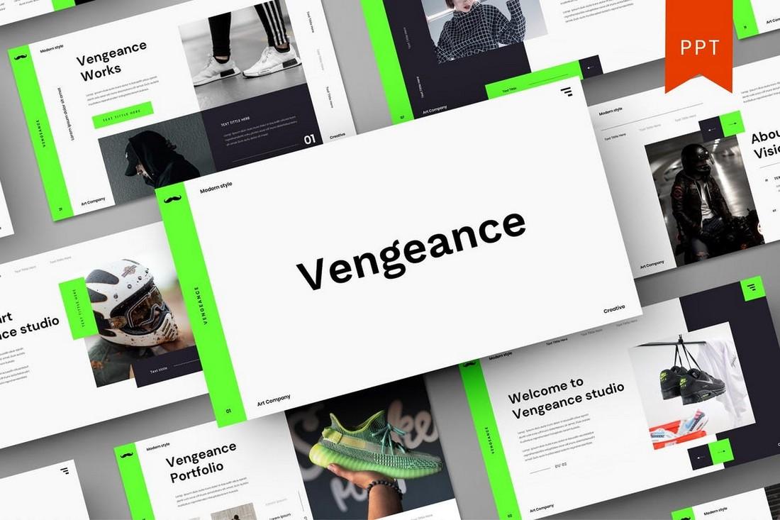 Vengeance – Creative Startup PowerPoint Template