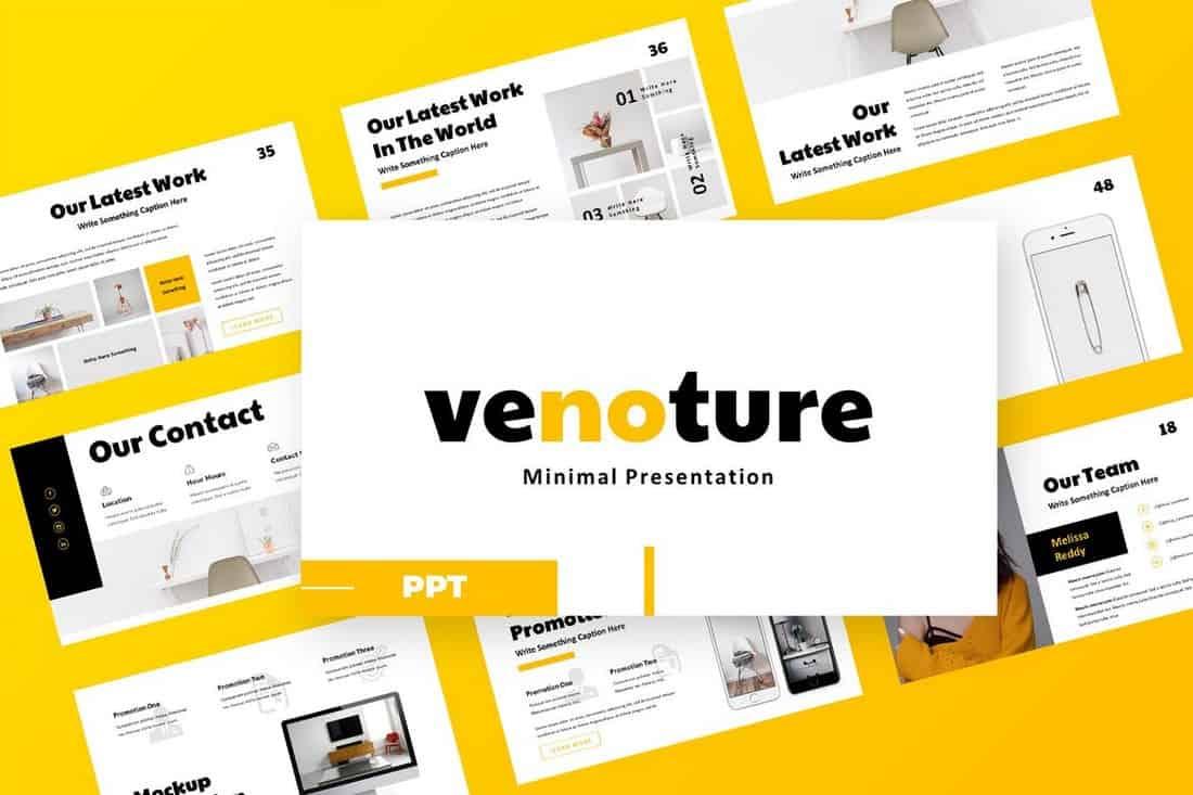 Venoture - Powerpoint Presentation Template