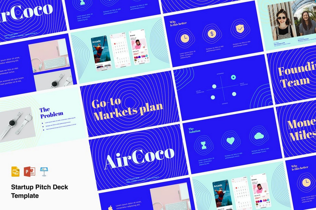 Venture - Pitch Deck Professional PowerPoint Template
