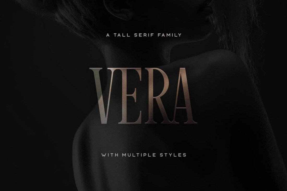 Vera-Typeface 40+ Best Condensed & Narrow Fonts of 2019 design tips