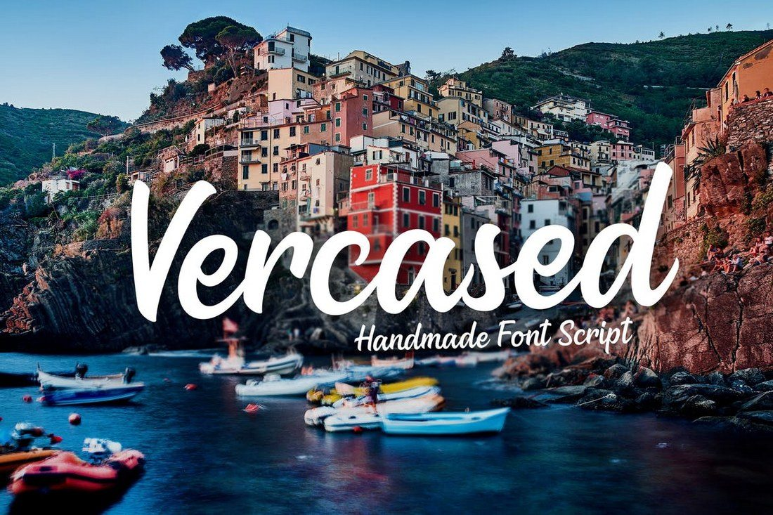 Versaced-Handmade-Font 50+ Best Hand Lettering & Handwriting Fonts 2021 design tips