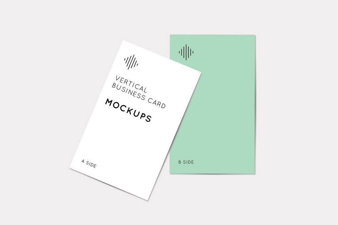 70 corporate creative business card mockups design shack this mockup template is designed specifically for showcasing vertical business card designs the mockup comes in 3 different pyramid compositions and colourmoves