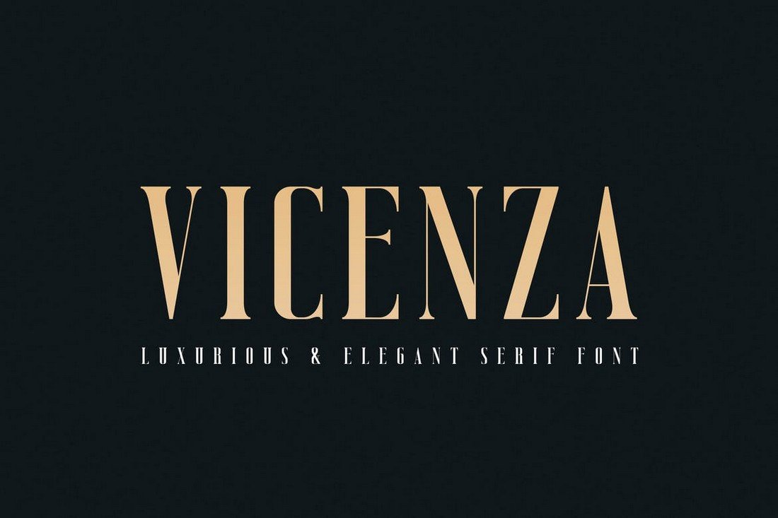 Vicenza-Elegant-Serif-Poster-Font 30+ Best Fonts for Posters design tips