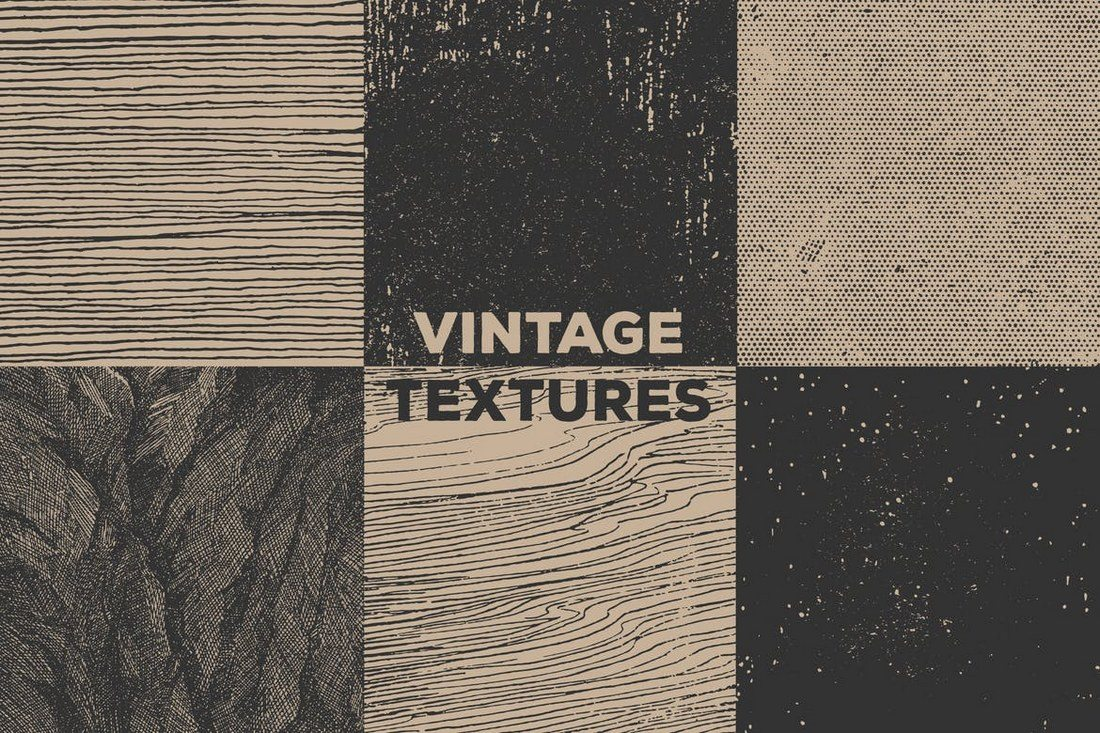 Vintage-Book-Textures 30+ Best Subtle Black & White Background Textures design tips