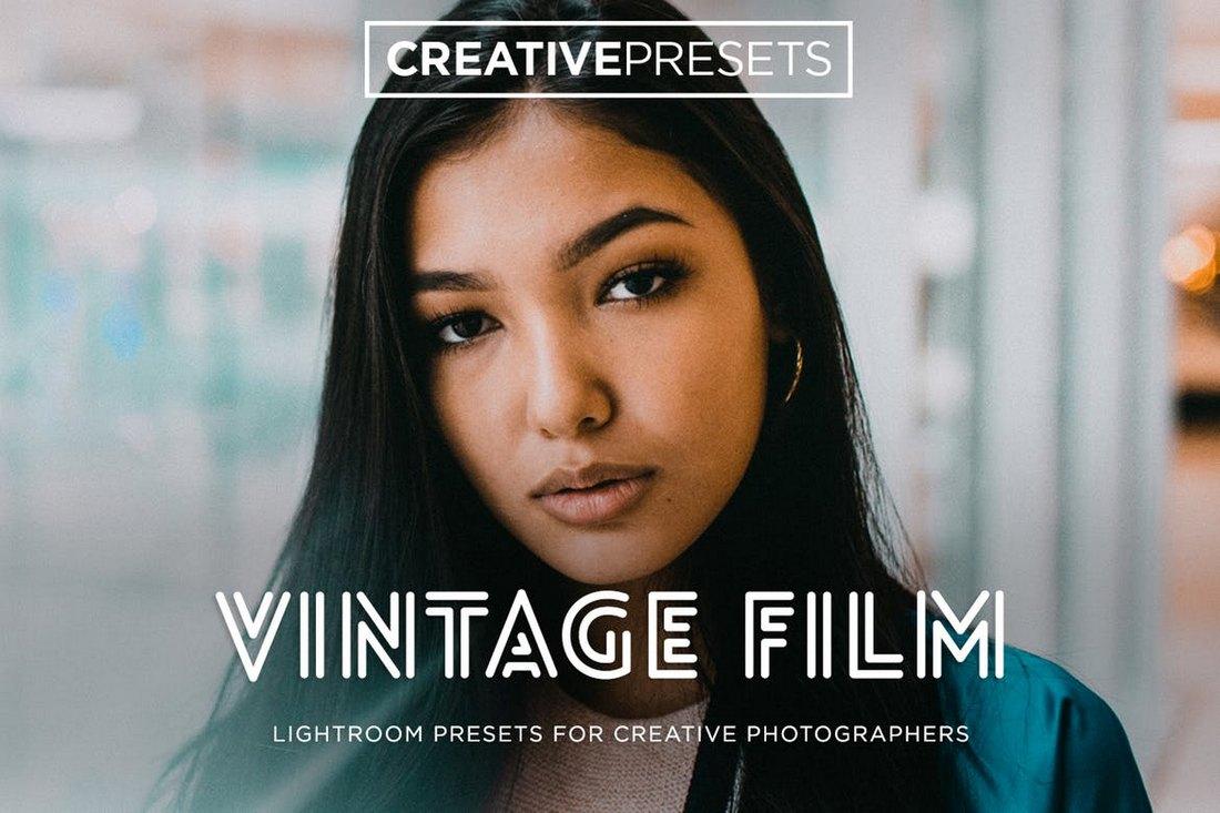 Vintage Film Lightroom Preset
