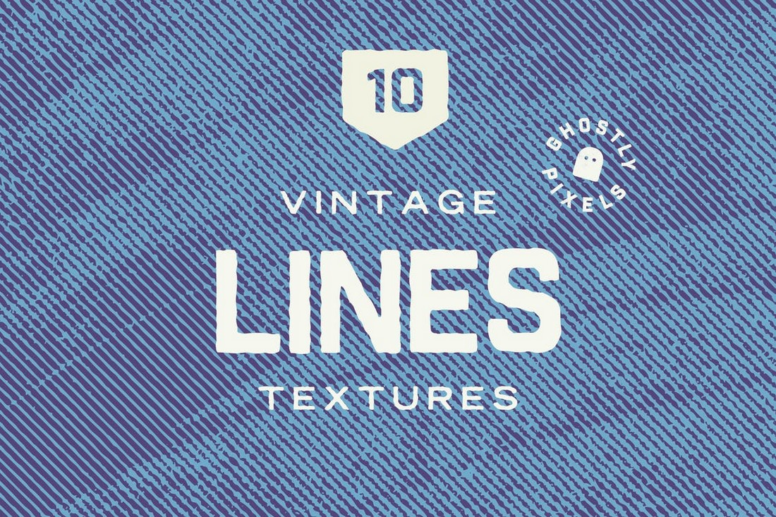 Vintage Lines Half-Tone Textures