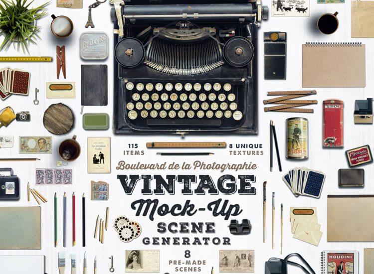 Vintage-Mock-Up-Scene-Generator-download