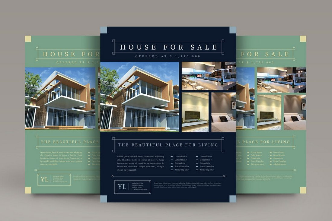 Vintage-Real-Estate-Flyer-Template 30+ Best Real Estate Flyer Templates design tips  Inspiration|flyer|property|real estate