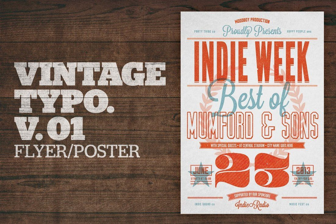 Vintage-Typography-Poster-v.01 Typographic Posters: 100 Stunning Examples design tips