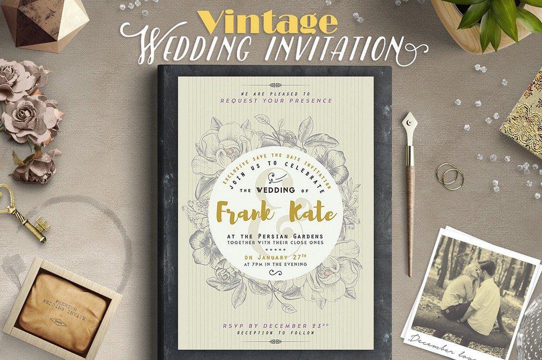 50 Wonderful Wedding Invitation Amp Card Design Samples