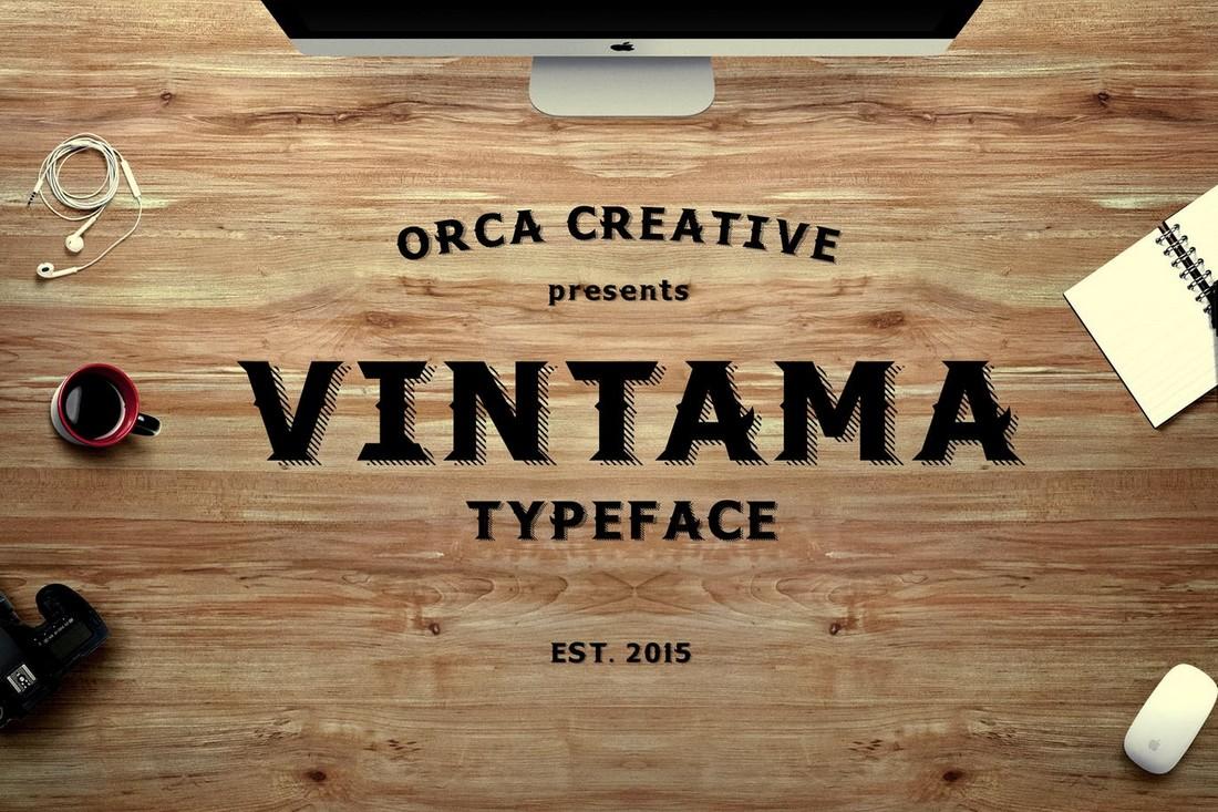 Vintama 10+ Professional Monospaced Fonts for Designers design tips