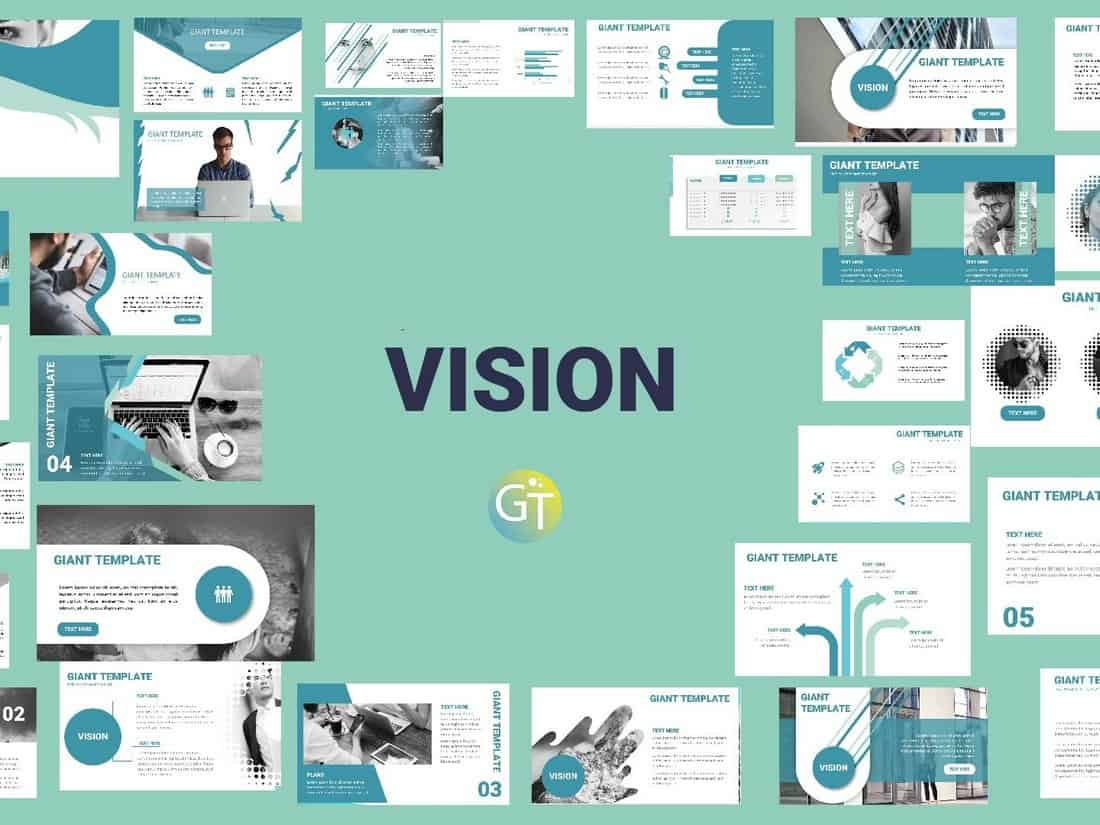 Vision - Free Business PowerPoint Template