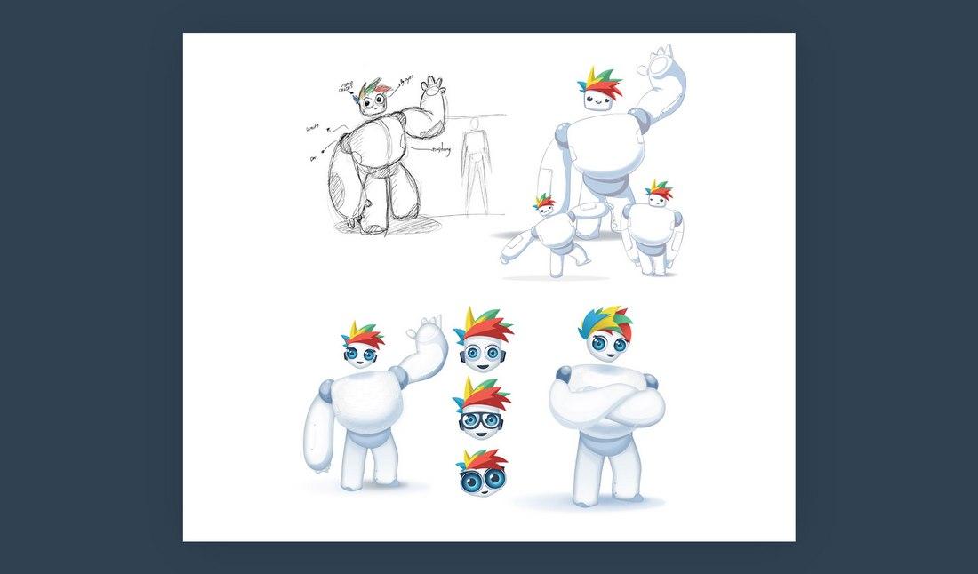 Visme-exploring-mascot-2