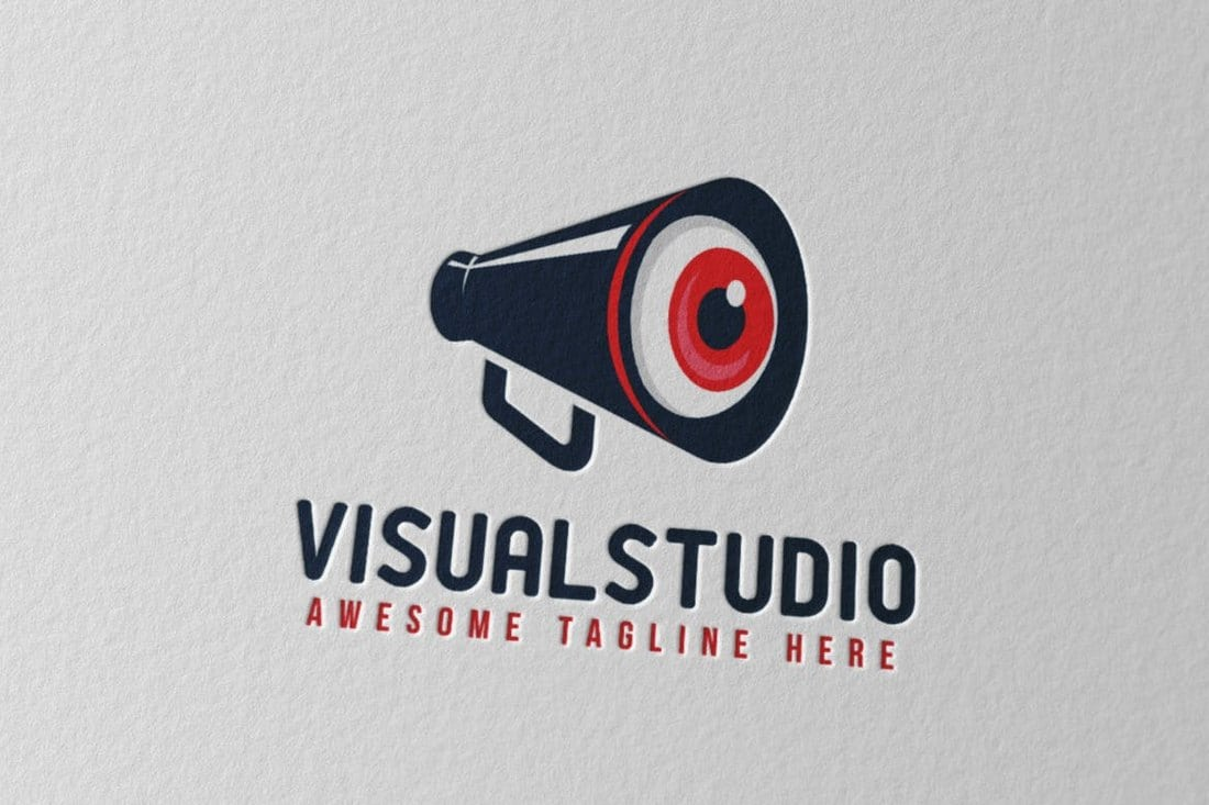 Visual-Studio-Logo-Template 40+ Best Photoshop Logo Templates (PSD) design tips