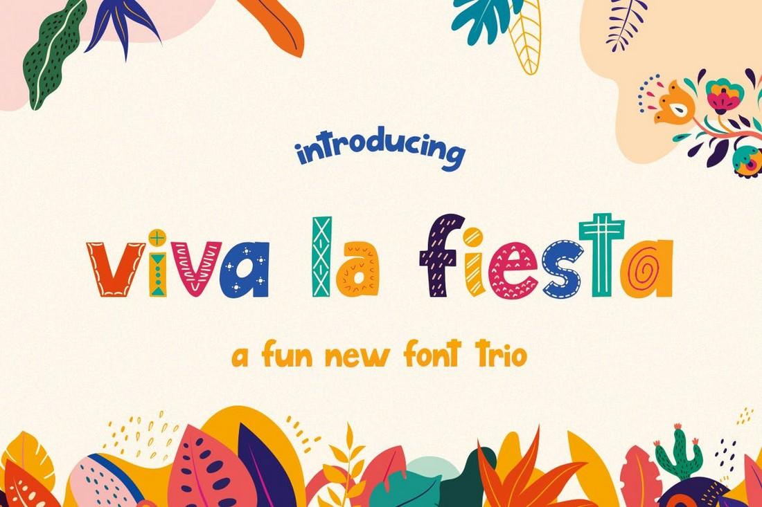 Viva La Fiesta - Color Font Trio