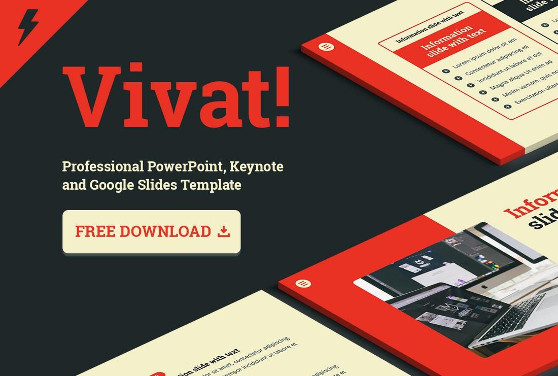 Vivat - Free Presentation Templates for Google Slides