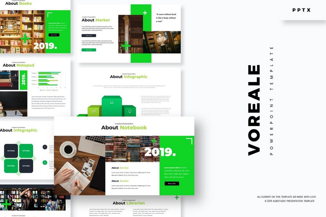 Voreale - Powerpoint Template