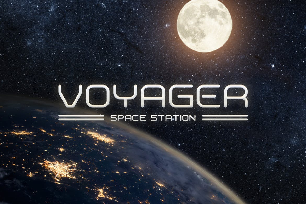 20 best space fonts design shack outer space the font includes alternate characters multilingual support and more its great for crafting tech related logos business cards colourmoves Image collections