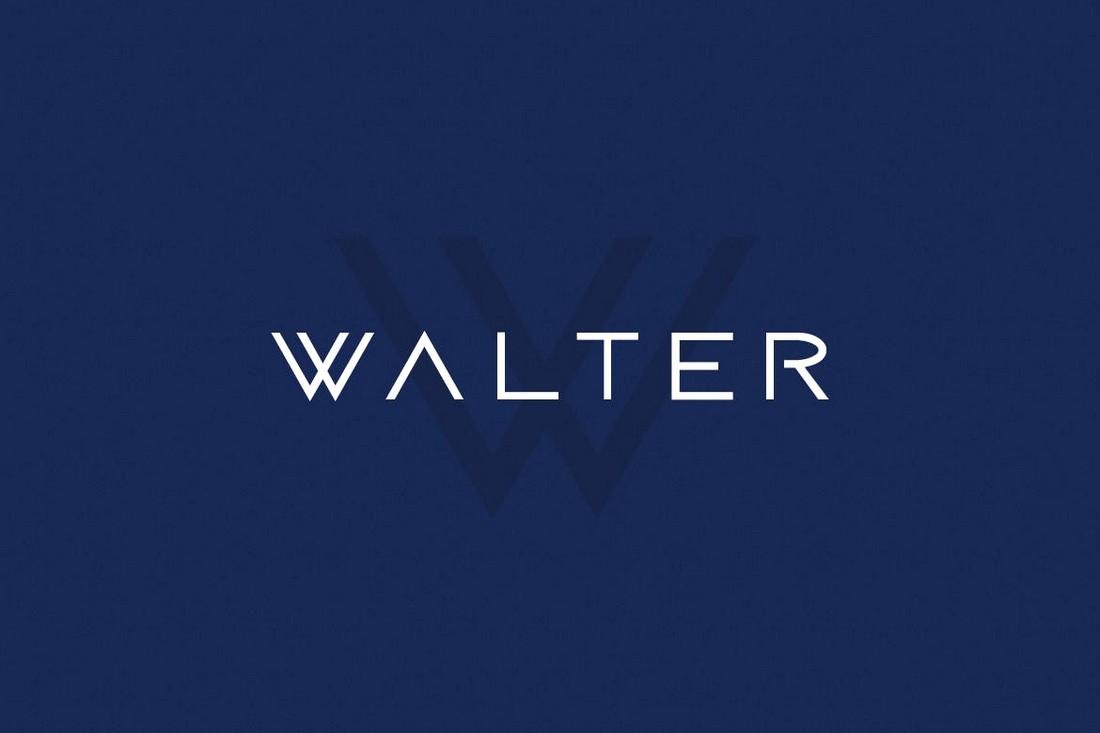 WALTER - Modern Business Font
