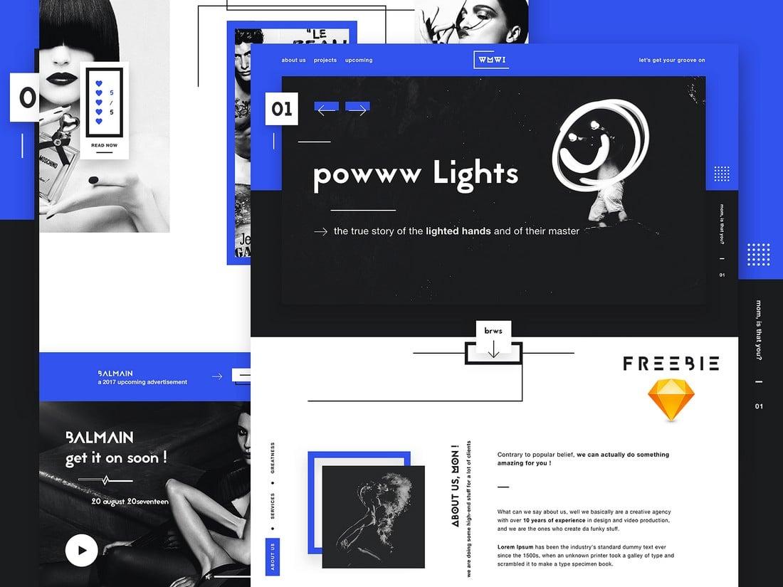 WMWII - Free Digital Agency Website Template