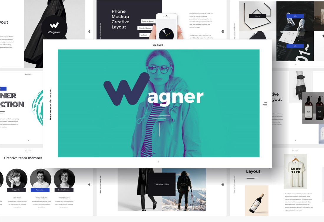 Wagner - Free Cool PowerPoint Template