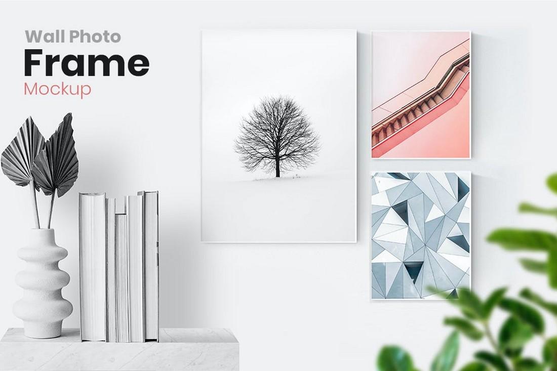 Wall Photo Frame Mockup Templates