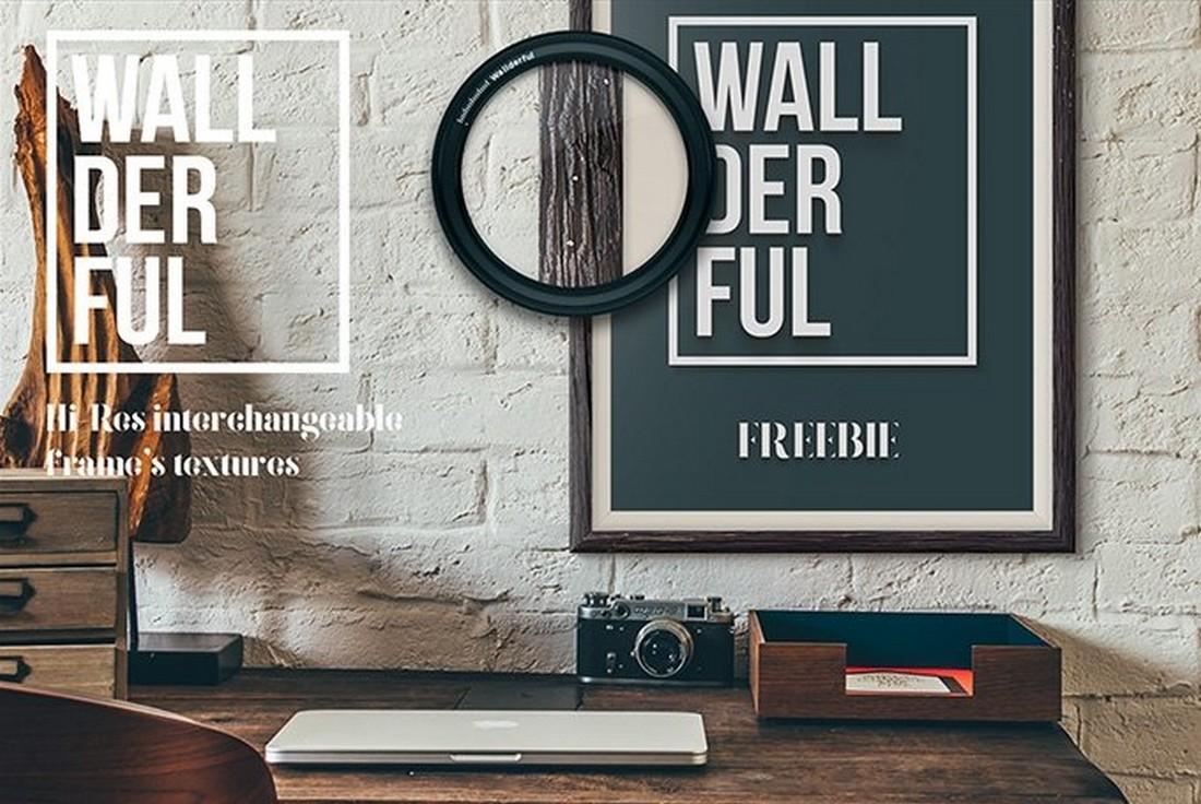 Wallderful - Free Poster Mockups